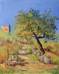 Workshop Student oil Painting