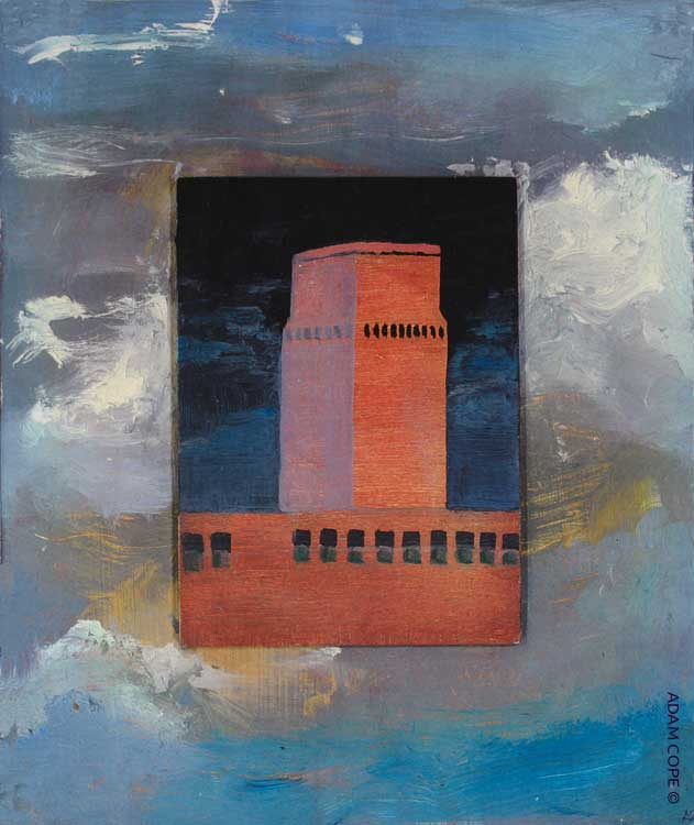 peter porter poetry watch tower warsaw uprising oil painting
