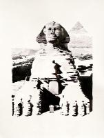 'The Great Sphinx of Gaza' 76 x 55 cm