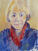 'Carol' Oil. 30 x40 cm