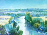 l'esperance , oil painting river