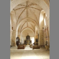 The Interior of the Abbey of Saint Avit Sénieur