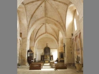 The Interior of the Abbey of Saint Avit Sénieur