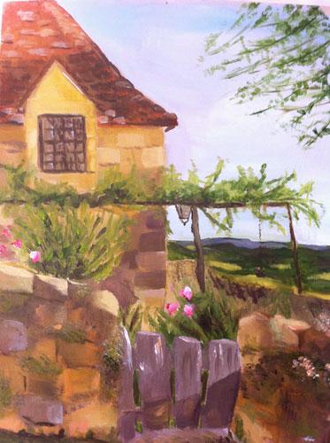 'The Grange at Beduer' by Karen. Alkyd.