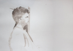 'Etienne' by by Martha. Advanced level watercolour