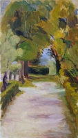 'Path' by Sheila. Oil