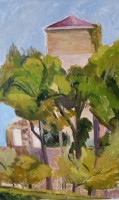 'Tower at Beduer' by Sheila.Oil