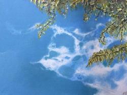'Sky' by Steph. Acrylic.