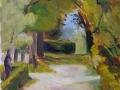 'Path' by Sheila. Oil