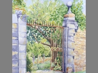 'Gates at Beduer' by Clair