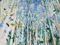 'Eucalyptus Forest' Watercolour. 38 x 28 cm. Available