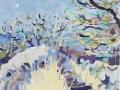 'Étude - Landorre' Oil on Canvas. 30 x 40 cm