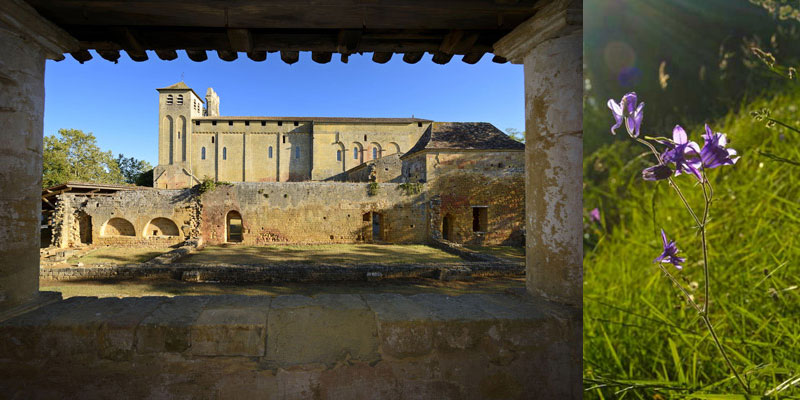 view abbey st avit from terrace