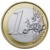 one euro coin