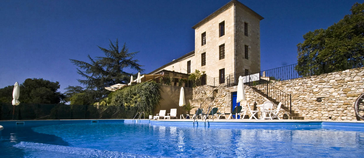 swimming pool Hotel de Sanse sunshine