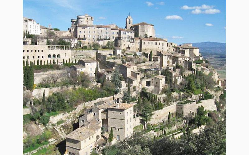 gordes village provence france