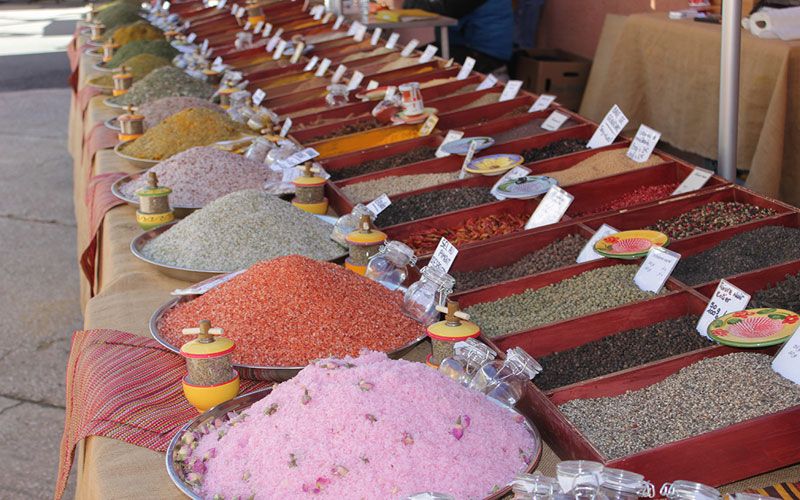spices french market