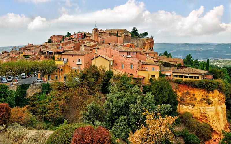 roussillon autumn colours artists view point