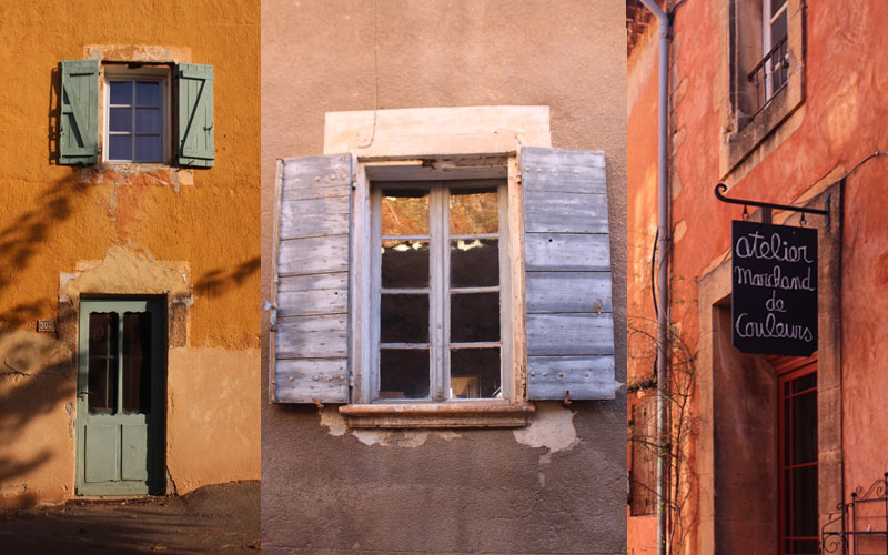windows shutters south france