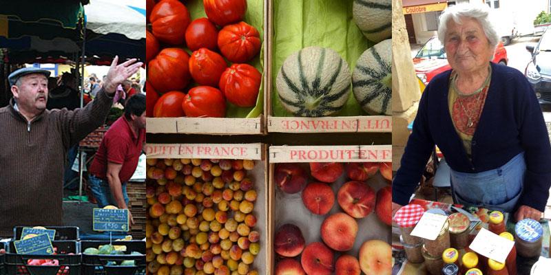 market day dordogne terrior
