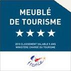 Four star quatre etoile meublé de Tourisme France