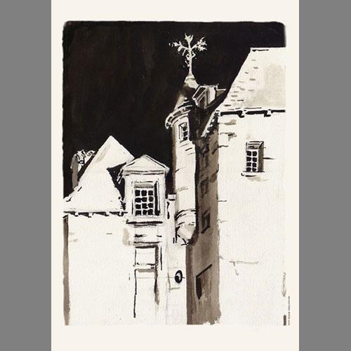 La Maison de Peyrade, Bergerac' Ink
