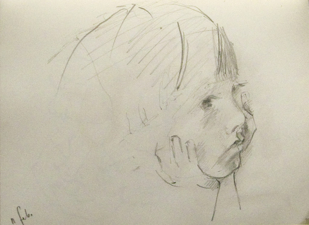 boy,drawing,head in hands,grahite,pencil,adam cope,eye lashes