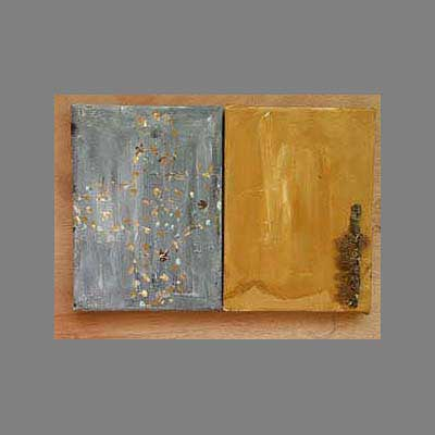'abstract.' Acrylics.