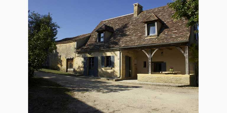 french holiday home, stone house