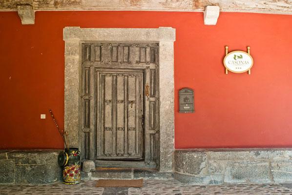 frontdoor historic spanish casona