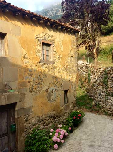 old stone house, old stucco wall,artists inspiration,